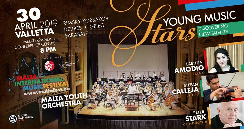 MYO Young Classical Stars, 30 April 2019 – Malta Youth Orchestra